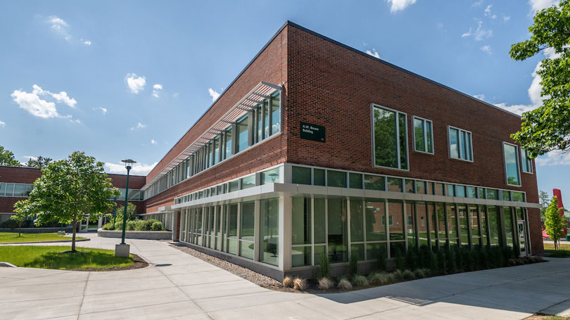 Picture of building SAS in located in Brown Building, part of the Academic Success Center