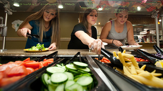 BASC Dining Services picture of dining staff