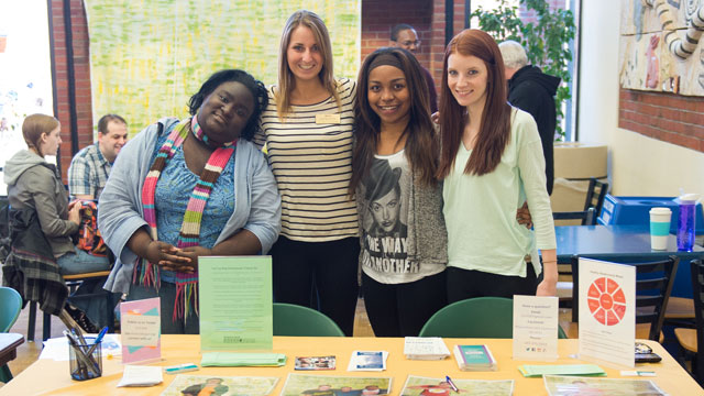 Picture of Prevention and Outreach Services Health Promotion Event -Tabling in Seymour Union