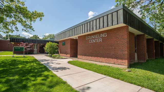 Picture of Counseling Center Building