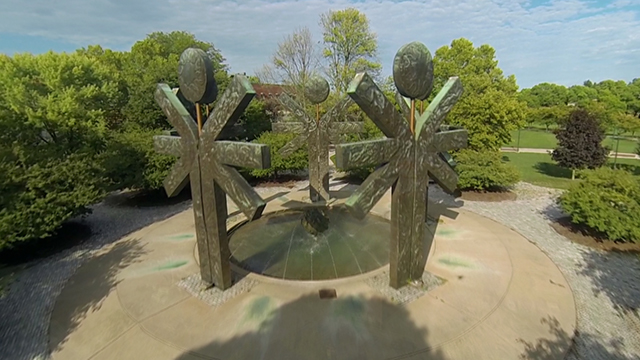 Picture of the Brockport Fountain
