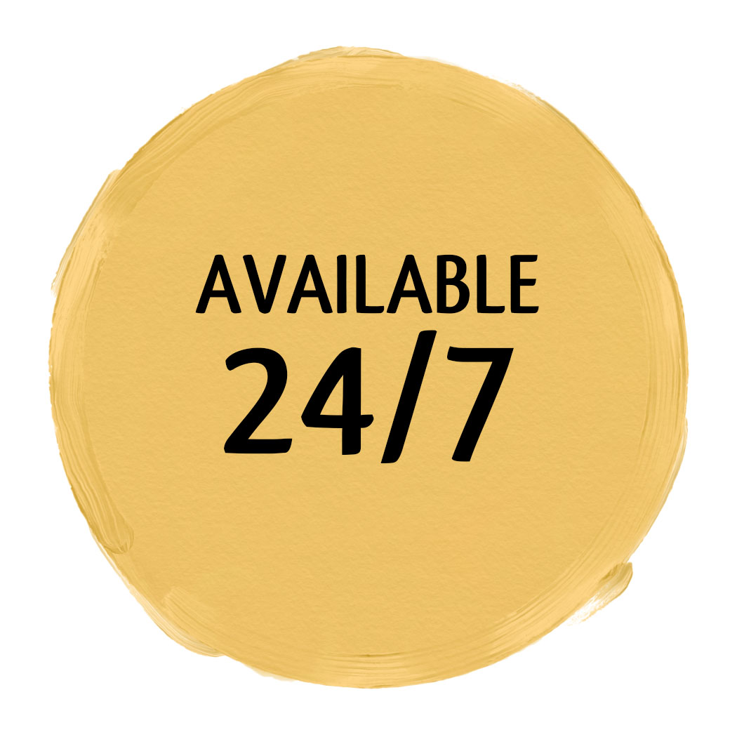 Available 24/7
